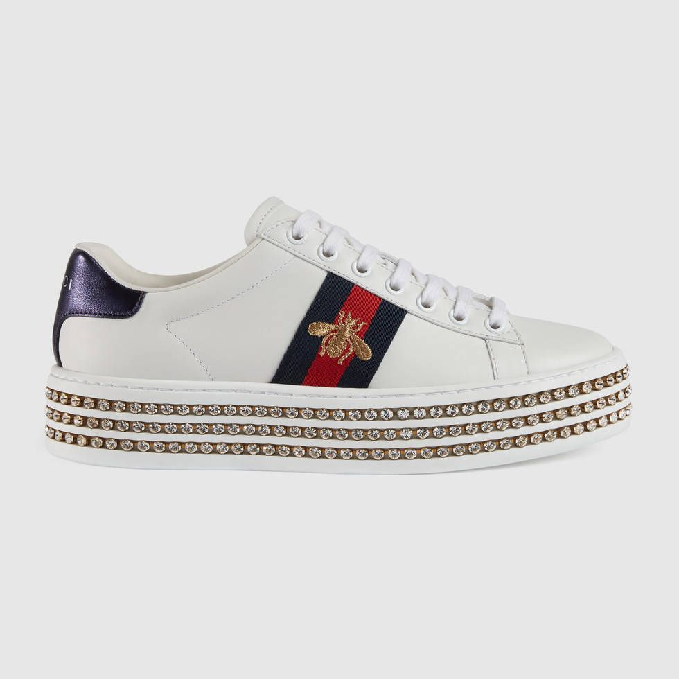 uk availability abb7e 6d42a Ace sneaker with crystals. Ace sneaker with crystals White ...