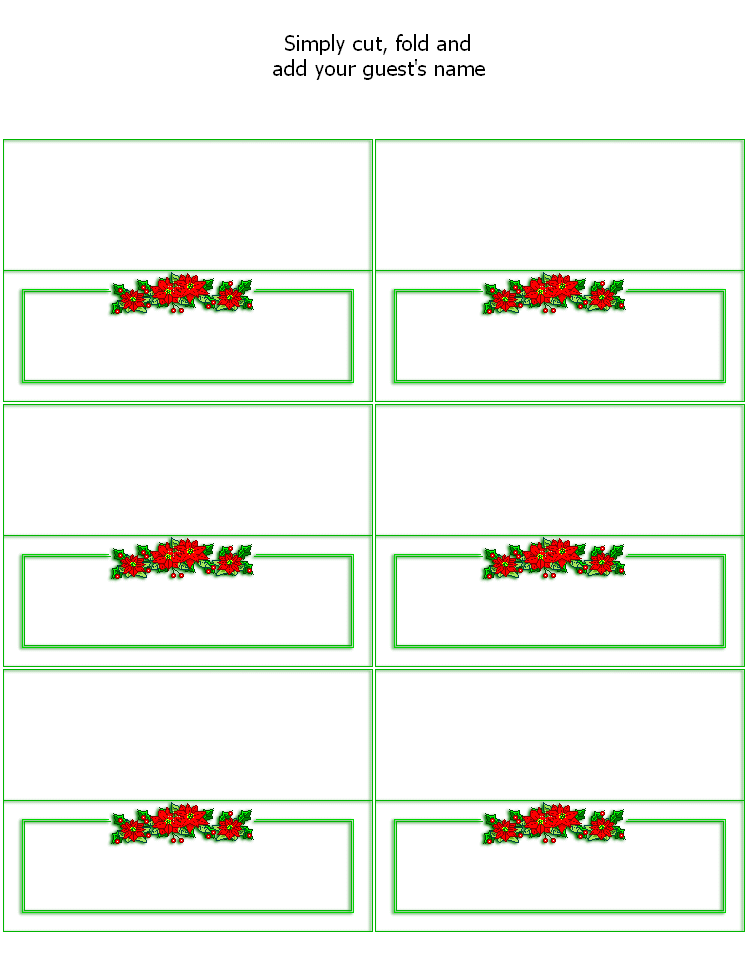 graphic regarding Printable Christmas Place Cards titled Pin by means of Essies Crafts 4 All upon Printables ~ Christmas Xmas