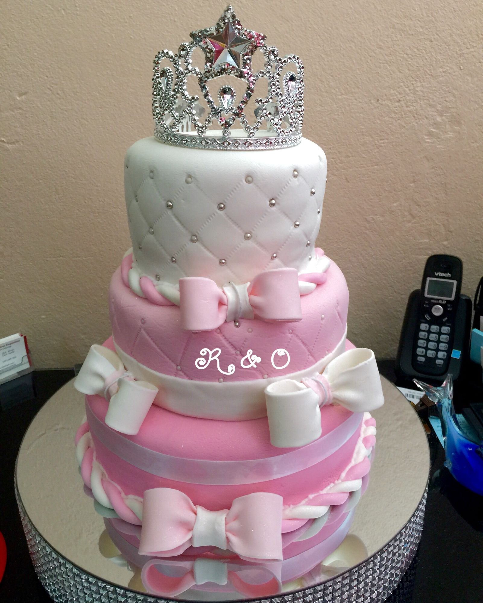 Lovely Bizcochos De Baby Shower Part - 10: Bizcocho De Baby Shower De Princesa
