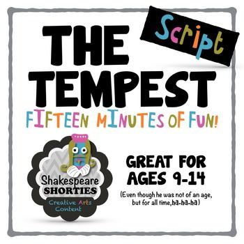 shakespeare tempest text