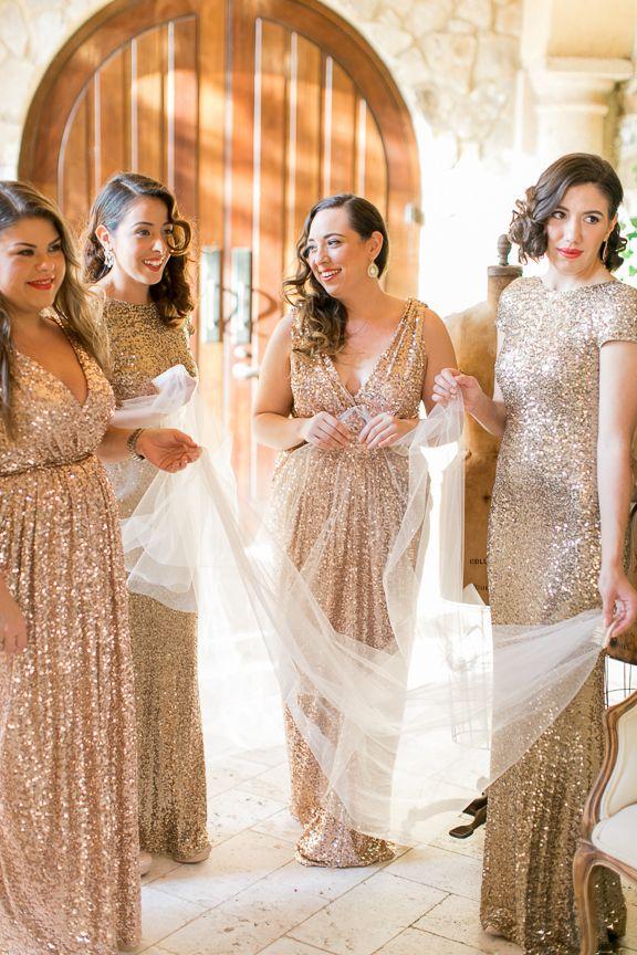 Amazing Gold Floor Length Badgley Mischka Bridesmaid Dresses Peplum Events and Design Michelle March