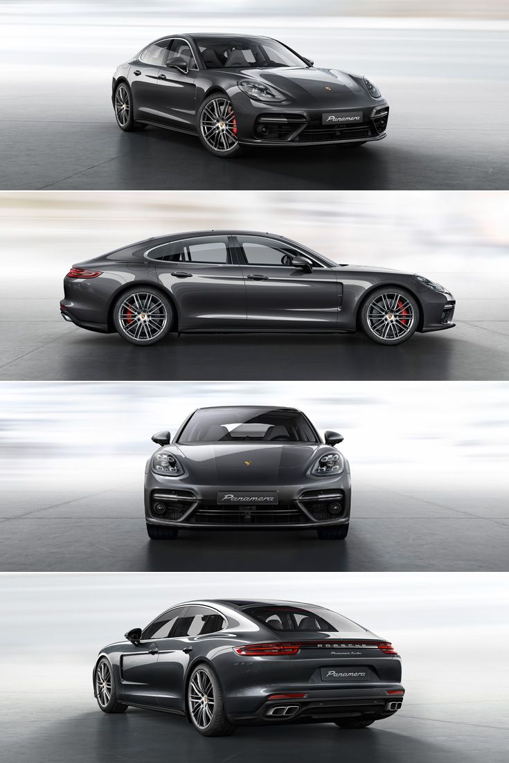 The new #Panamera Turbo: The twin tailpipes are specific to the Turbo, the brake calipers behind the 20-inch Panamera Turbo wheels are finished in red.  Learn more: http://link.porsche.com/panamera-pin-gallery  *Combined fuel consumption in accordance with EU 6: 9.4-9.3 l/100 km; CO2 emissions: 214-212 g/km.