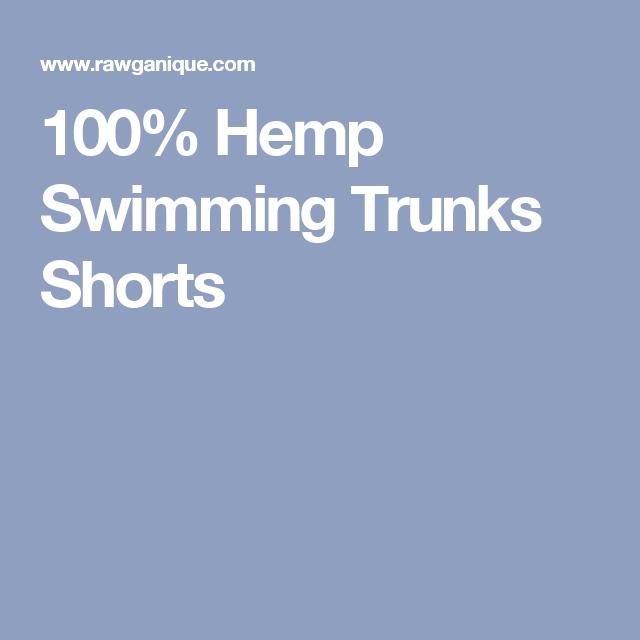 8a64d22964 Bondi Beach Hemp Swimming Shorts (Lined) (One Inside Pocket - No ...
