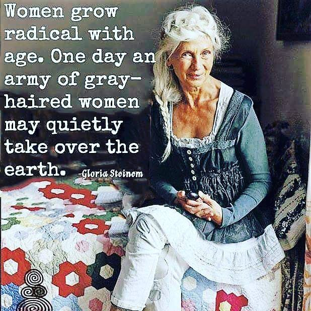 """Jackie (@shopirishgypsy) on Instagram: """"Aging gracefully and beautifully. Tis an honor to grow old."""" #aginggracefully"""