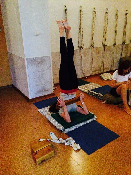 Salamba Sarvangasana Yoga Inversions 8ffe23b39c17
