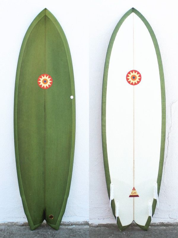 220841896 6 4 Hanel Quad Fish Surfboard Shapes
