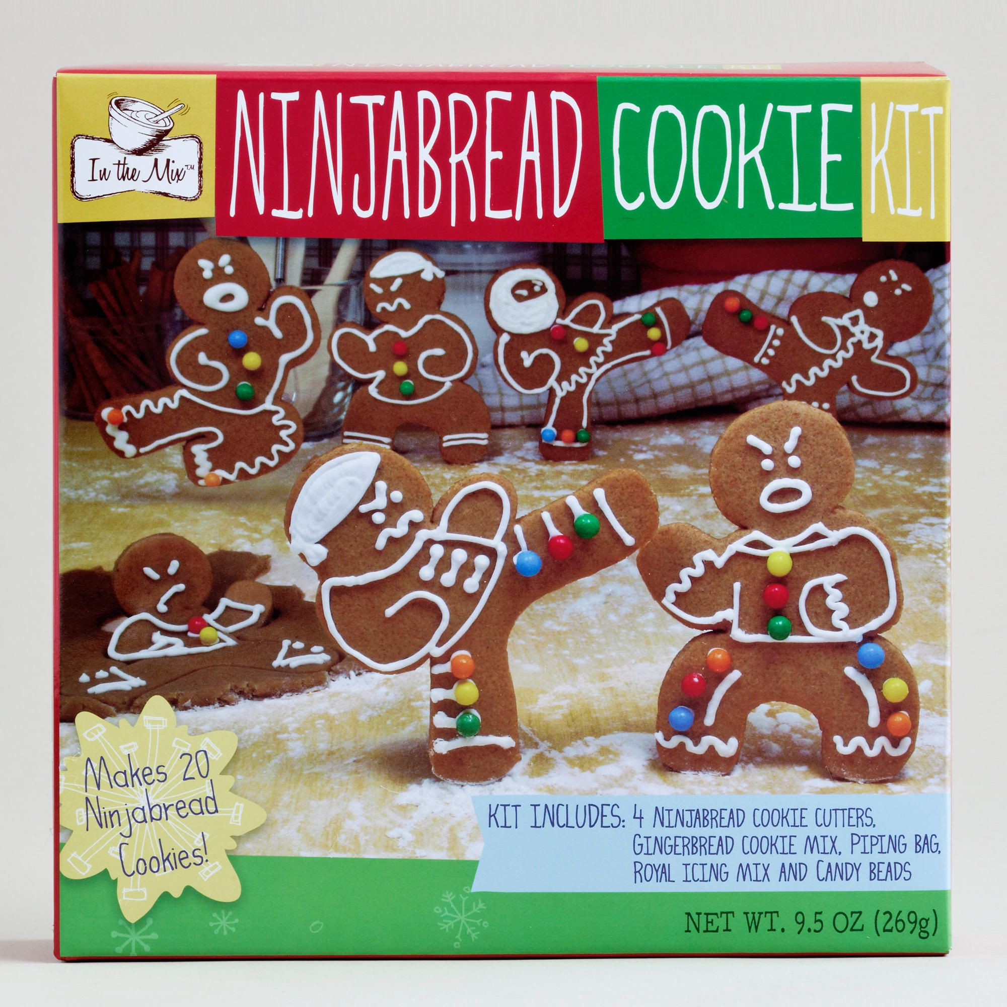 Gingerbread Ninja Cookie Kit World Market this is
