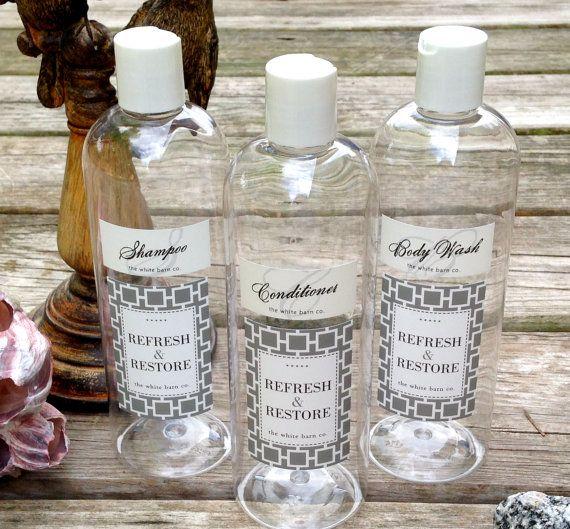 Decorative Soap Dispenser Bottles, Set Of 3, Guest Bath Organizers, Shower  Dispenser Bottles, Shampoo Bottles, Bathroom Accessories Set