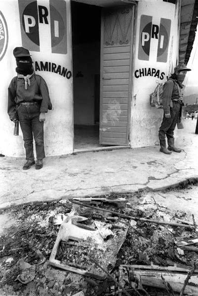 El alzamiento zapatista. Foto: Marco A. Cruz