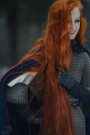 Redhead warrior