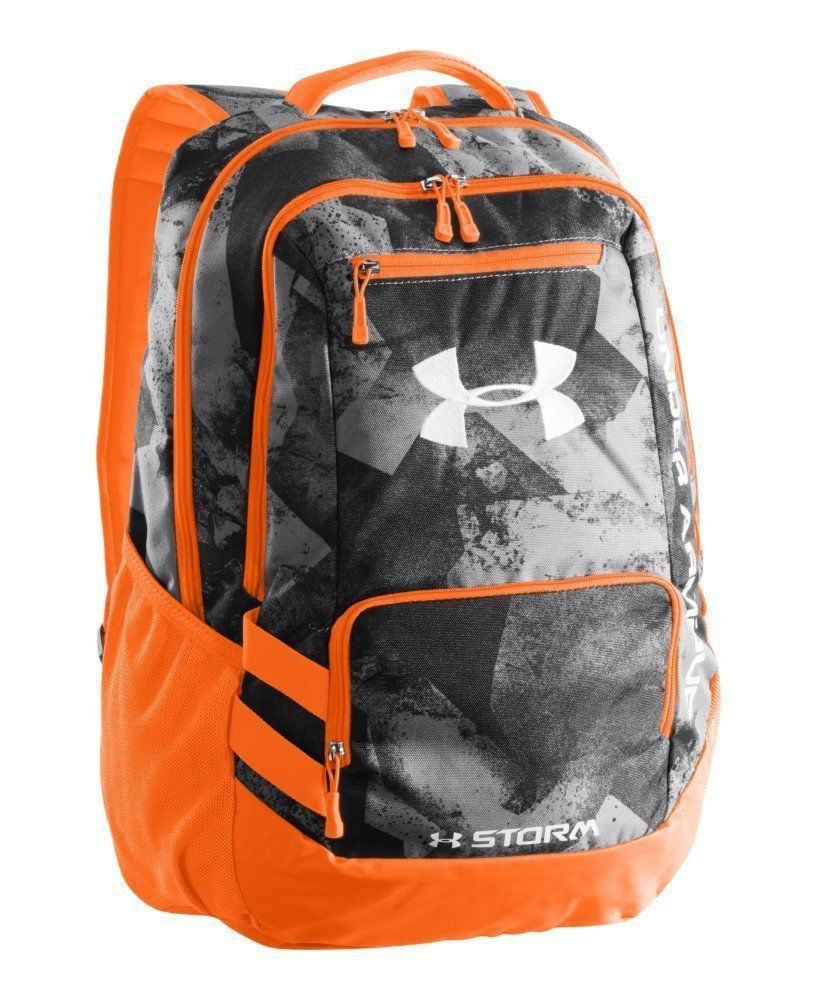 Under Armour Hustle Storm Backpack Book Bag Rugged BACK TO SCHOOL FREE  SHIPPING  UnderArmour  Bookbag 7d36e6689733e
