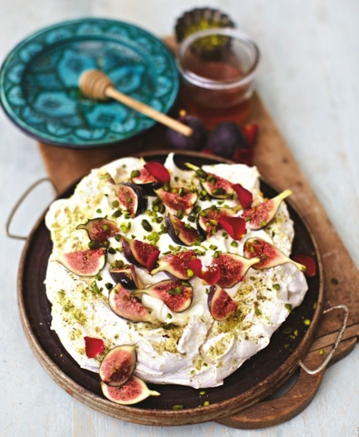 Pistachio and Rosewater Pavlova | Meringue Girls