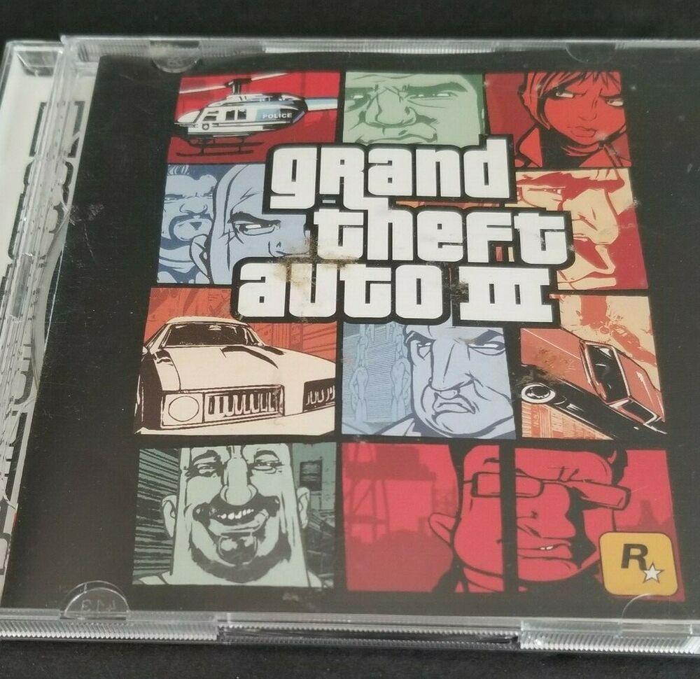 Grand Theft Auto 3 Pc Game Gta3 Gta Iii Rockstar Grand Theft
