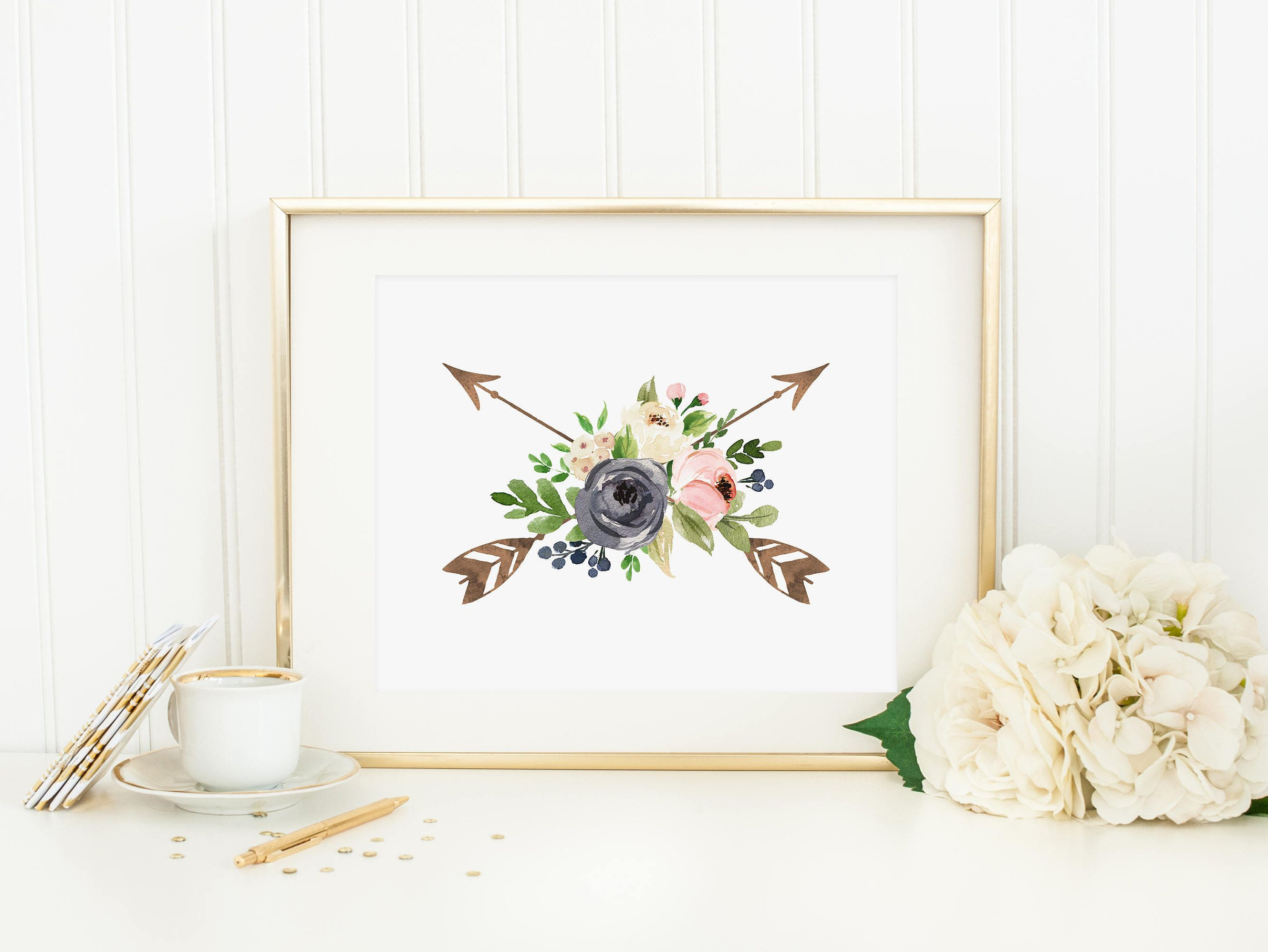 bohemian arrow printable boho nursery decor shabby nursery wall art