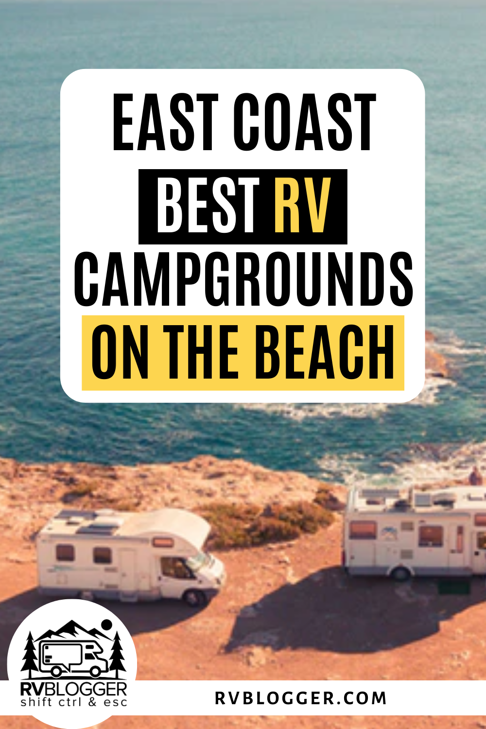 21 Best Rv Campgrounds On The Beach East Coast Guide Rvblogger Road Trip Camping East Coast Road Trip Maine Road Trip