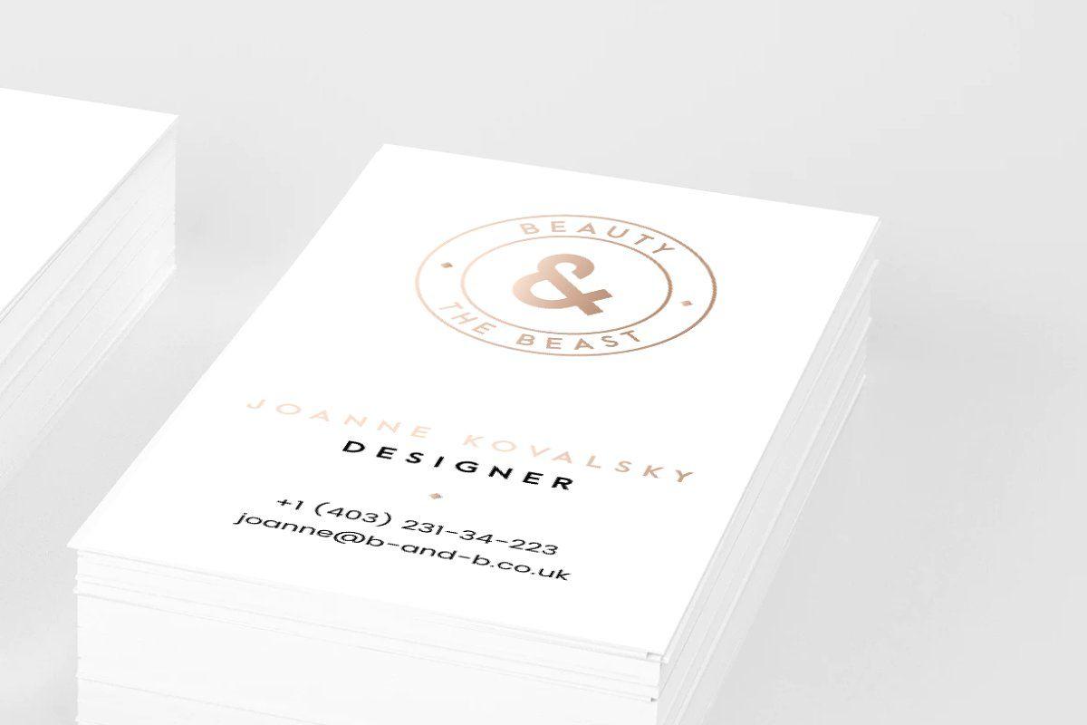 Fashion Business Card Template In 2020 Fashion Business Cards Business Card Template Card Template