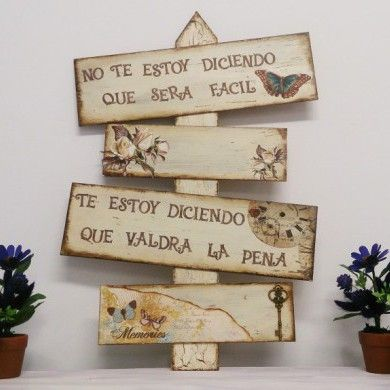 tablas de madera decoradas mini album pinterest