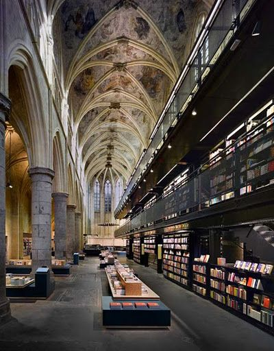 A definite stop for us: Book Store, Maastricht, The Netherlands