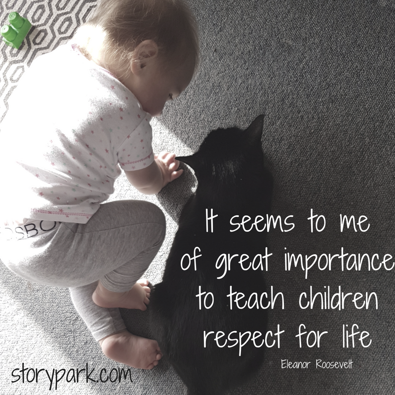 Animals teach children empathy and respect for others ...
