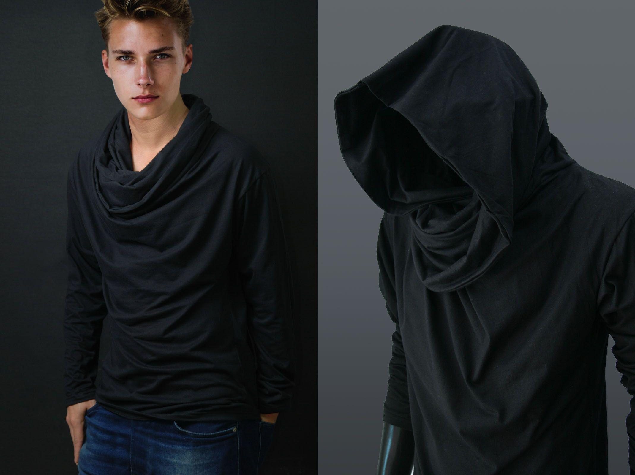 Calvin Klein Funnel Neck Pullover Sweatshirt Hoodies Sweatshirts Men Macy S Hoodies Men Mens Sweatshirts Funnel Neck Hoodie [ 2378 x 1947 Pixel ]