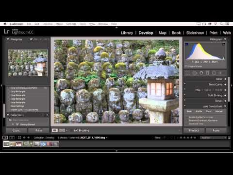 How to zoom in lightroom cc