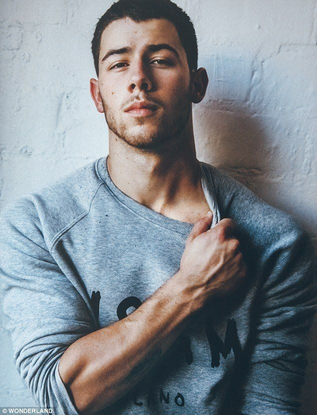 Nick jonas sex face