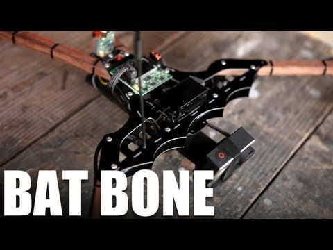 Flite Test - Bat Bone - Tricopter w/ POV camera | Robots, Drones ...