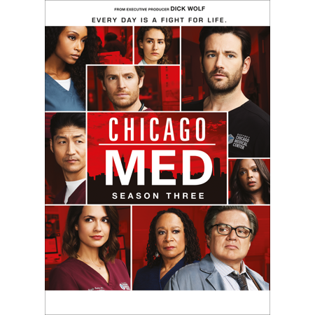 Chicago Med Season Three Dvd Walmart Com In 2021 Chicago Med Chicago Colin Donnell