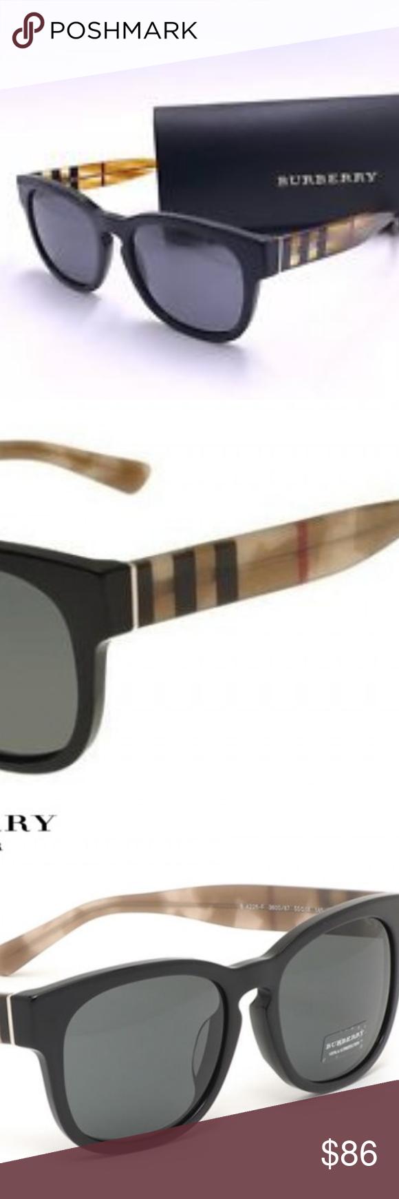 019b9a1b6b53 Burberry b4226 unisex polarized sunglasses
