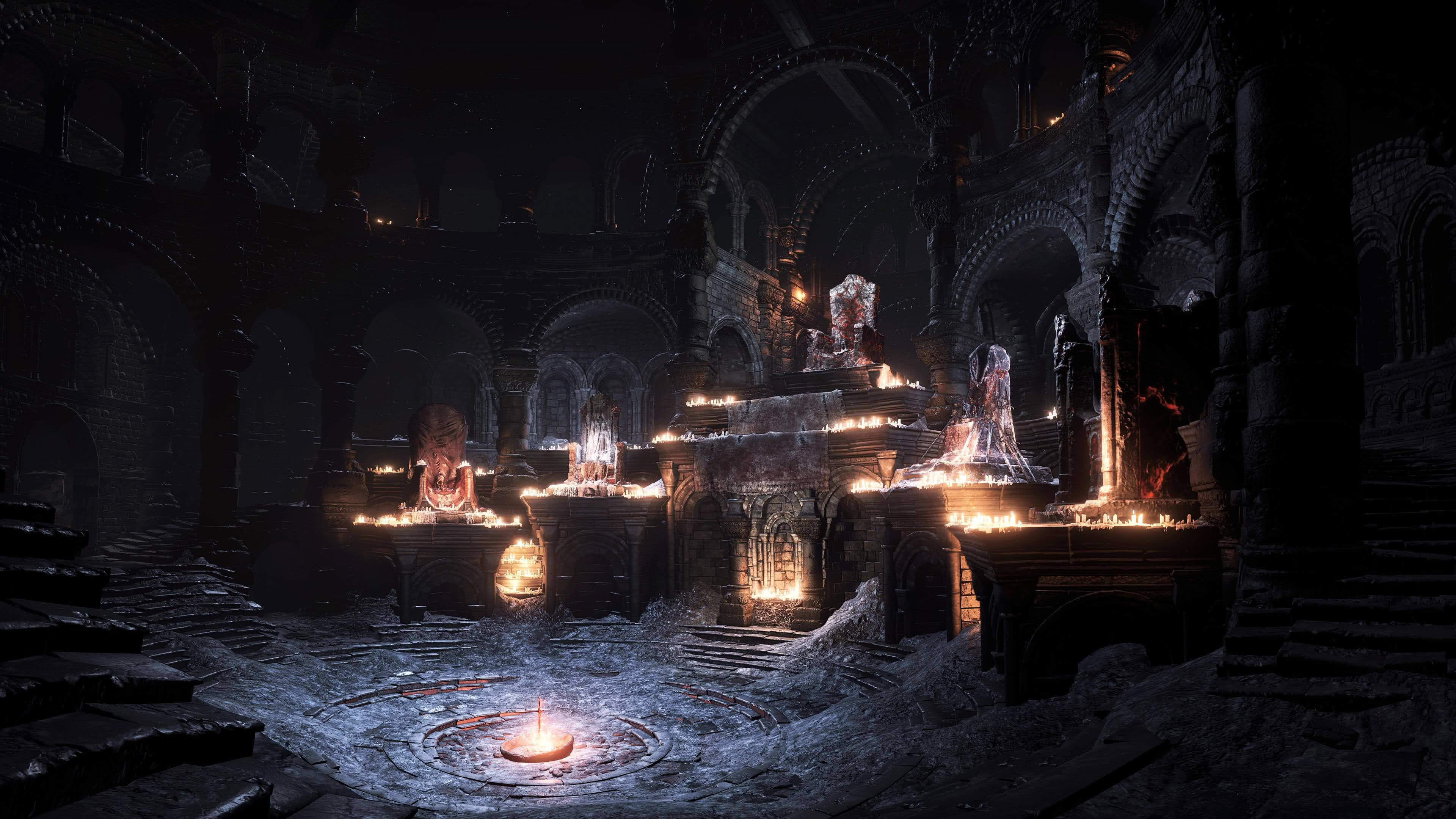 Res 3840x2160 Dark Souls 3 Firelink Shrine Uhd 4k Wallpaper In 2020 Dark Souls Wallpaper Dark Souls Dark Wallpaper