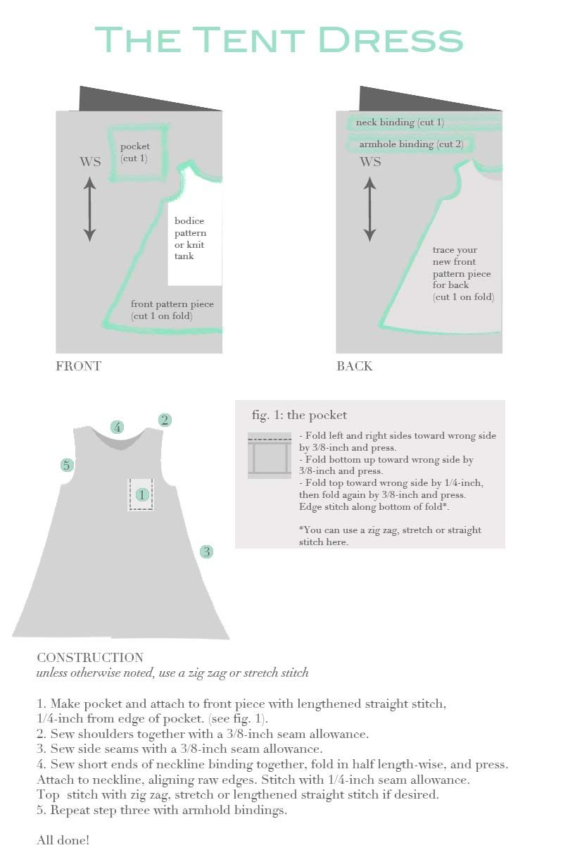 Sewing for Me The Summer Salvation Dress (aka The Tent Dress) + Quick Tutorial u2013 Sanae Ishida  sc 1 st  Pinterest & tent-dress-instructions | sewing | Pinterest | Tent dress Tents ...