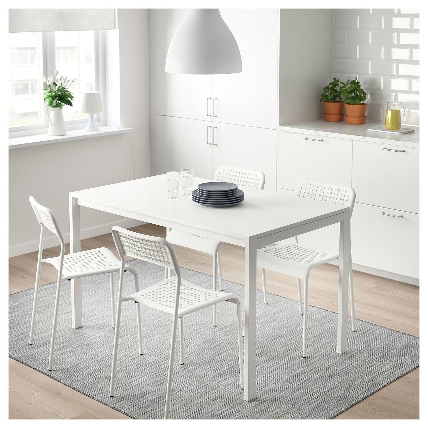 Adde Chair White Dining Room Design Ikea Room Wall Decor