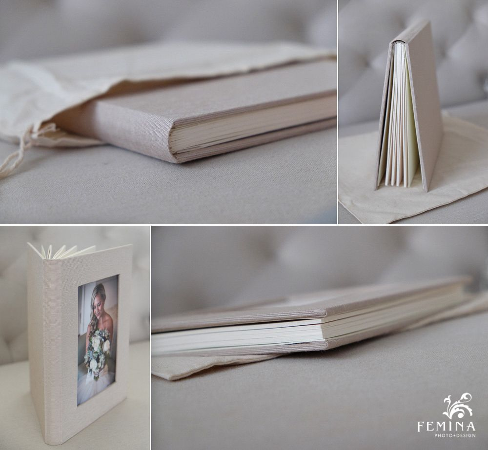 Custom Folio Book 8 Page Self Mount Book That Holds 4x6 Or 5x7