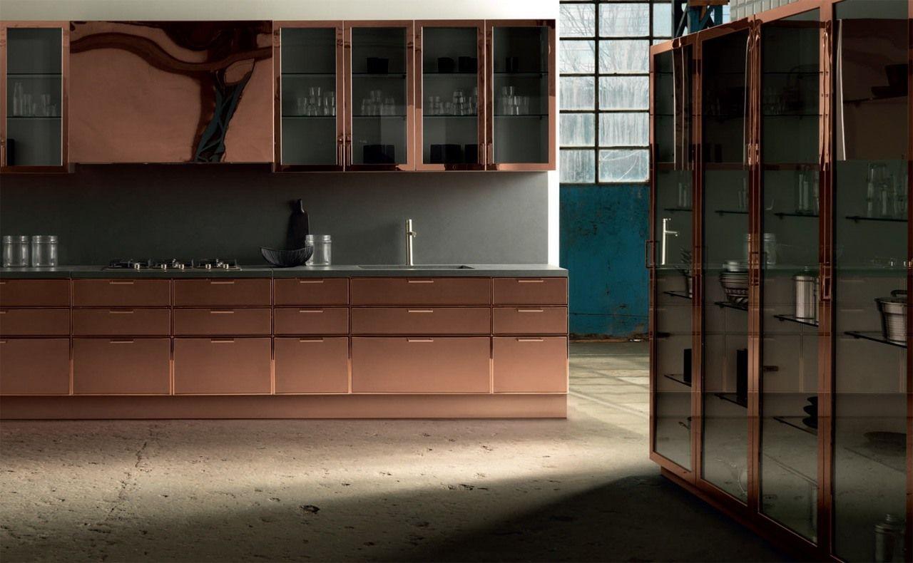 Meuble De Cuisine Industriel cuisine type industriel meubles cuivre   cuisine style