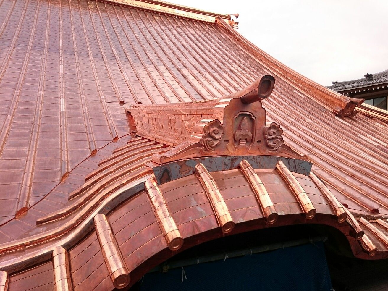 Pin On Copper Metal Roof Construction