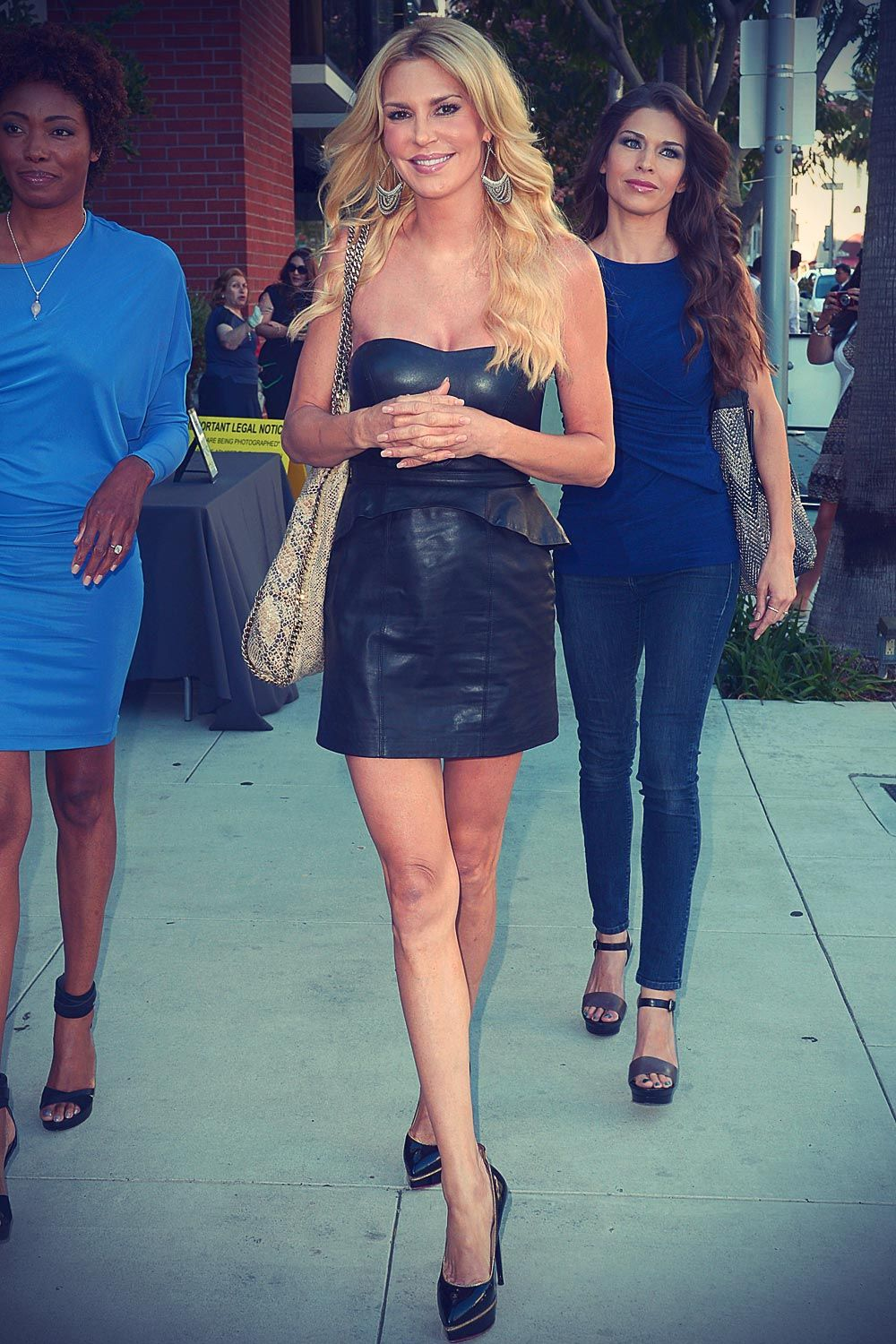 brandi glanville goes to a party at kyle richards store