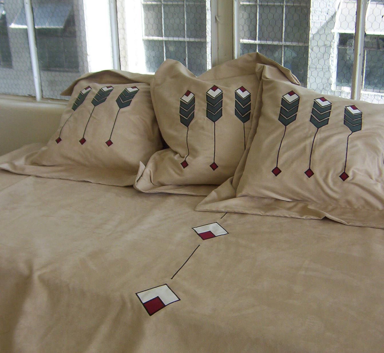 Arts and crafts style bedding - Arts And Crafts Style Bedding 1