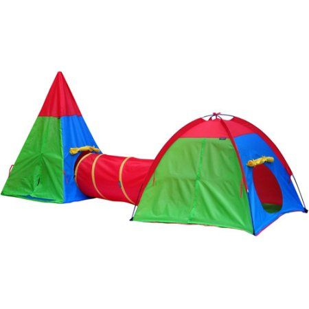 GigaTent Action Dome and Tepee with Tunnel Play Tent Set - Walmart.com  sc 1 st  Pinterest & GigaTent Action Dome and Tepee with Tunnel Play Tent Set - Walmart ...