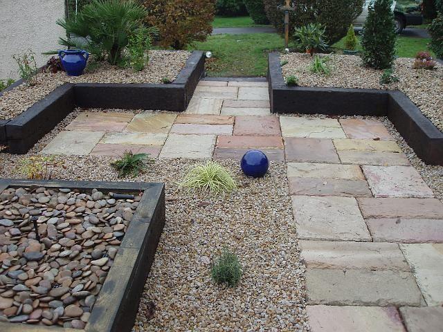 Backyard Garden Paving Ideas
