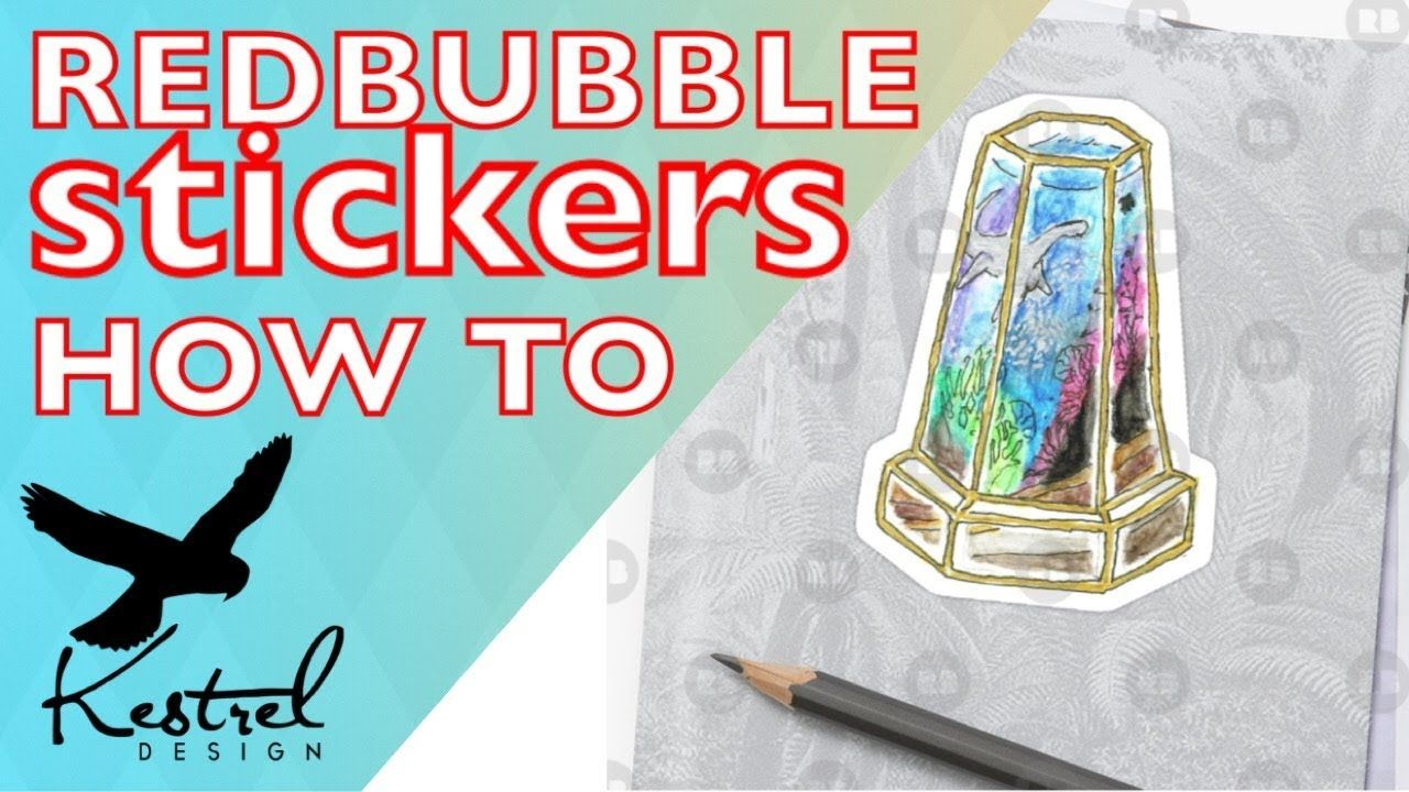 Tutorial How To Edit Your Artwork For Redbubble Stickers Youtube In 2020 Redbubble Making Money Teens How To Make Stickers