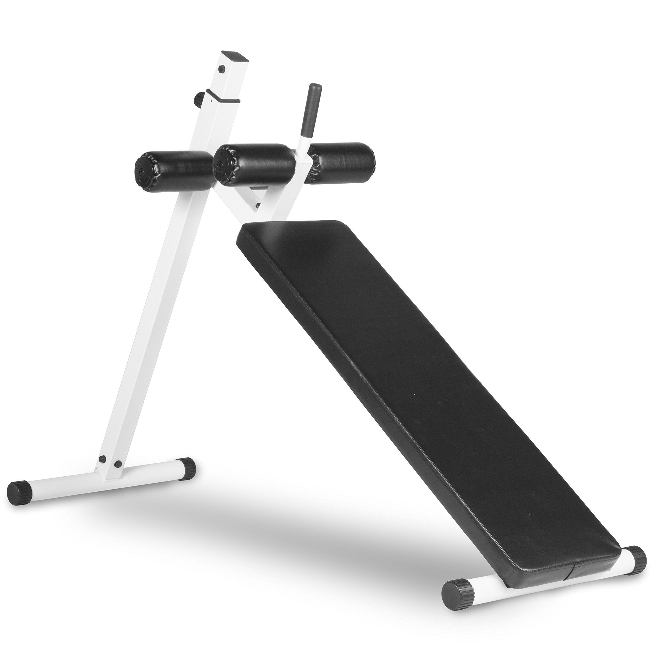 xmark fitness xm 4380 white ab bench challenge your abs to a fat