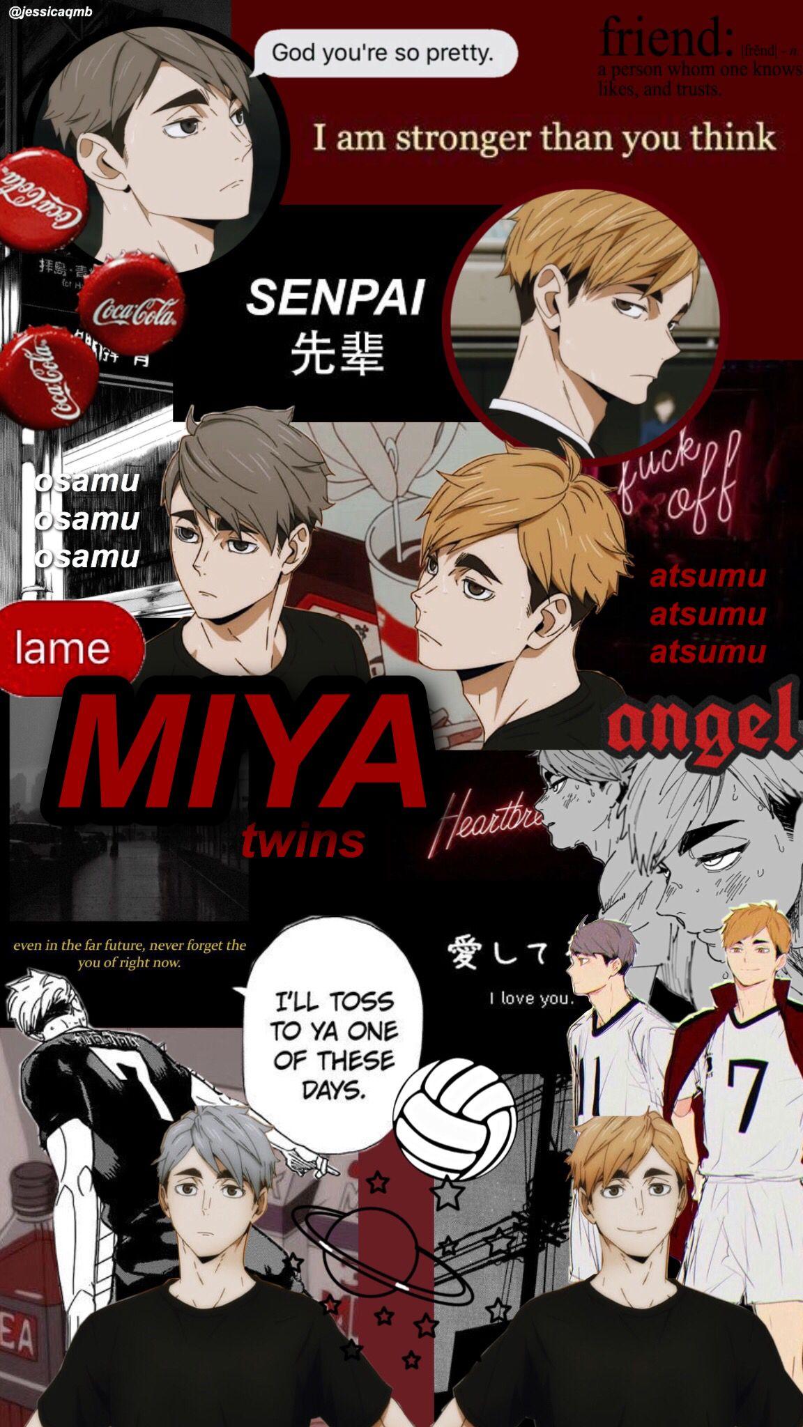 Miya Twins Aesthetic Haikyuu Wallpaper Haikyuu Wallpaper Haikyuu Anime Wallpaper Phone
