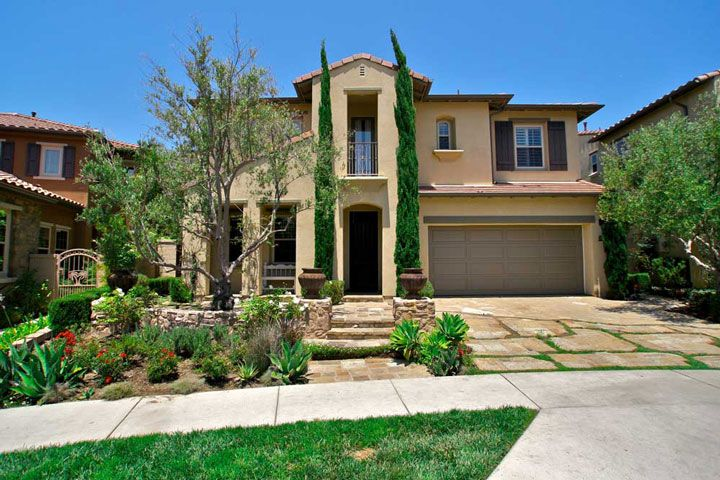 tuscan home exteriors | San Clemente Tuscan Style Homes | San ...