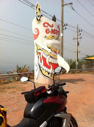 thailand mountain mask