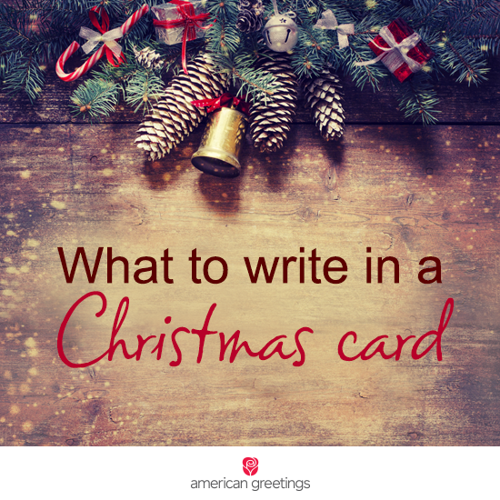 What to Write in a Christmas Card Christmas card sayings