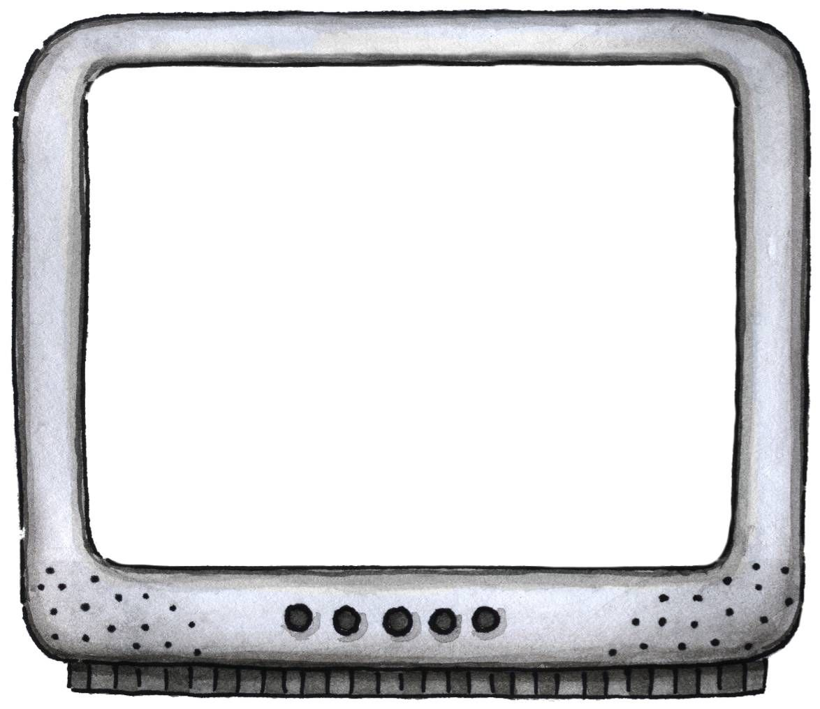 Tv Or Computer Frame Frames For Designing And Scrapping Digital
