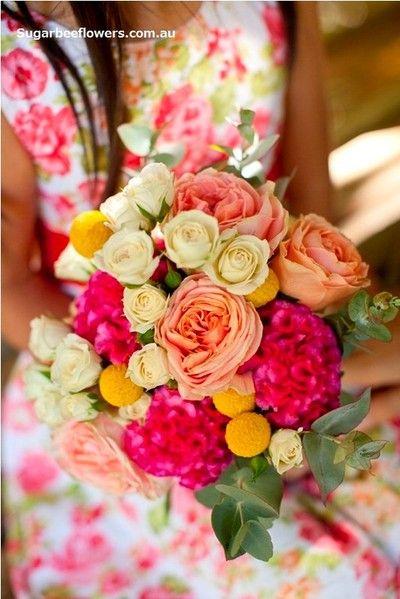 Wedding bouquets - Sugar Bee Flowers, wedding florist in Melbourne Australia