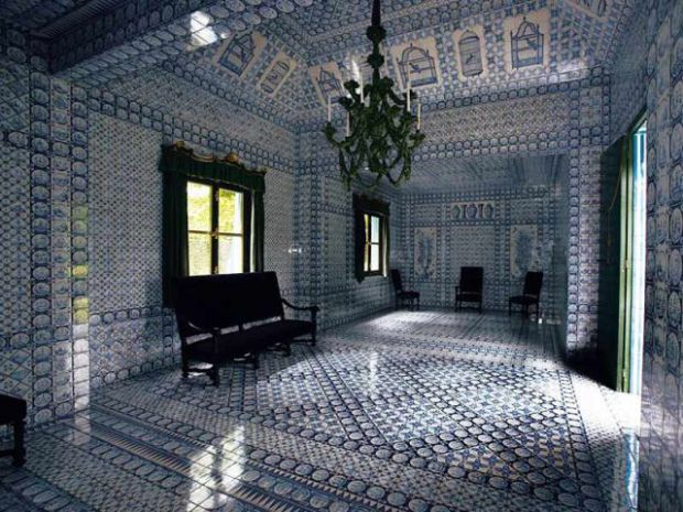Interieur Tente tartare Groussay