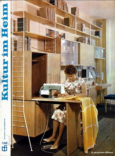 1961 Einrichtungszeitschrift Kultur Und Heim Foto Dpa Picture