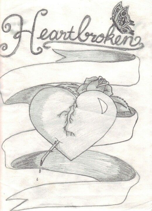 180 Quotes/ Broken Heart Drawings ideas | quotes, me